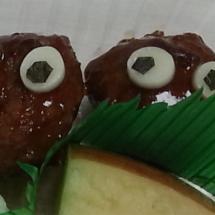 Rußmännchen aus Fleischklößchen (Foto: ©fduprel)