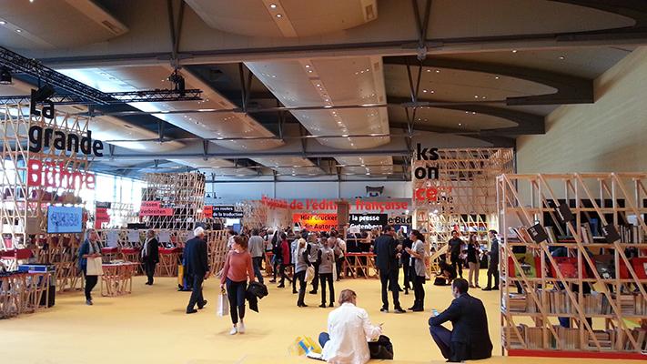 Frankreich-Pavillon auf der Frankfurter Buchmesse 2017 (Foto: © 2017 fduprel)