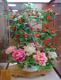 Zuckerkunstwerk, historisches Museum, Matsue (Foto: © 2016 fduprel)