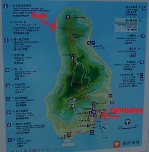 Plan von Nokonoshima