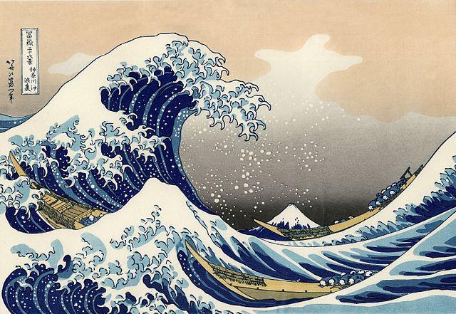 Bild: Unter der Welle vor Kanagawa